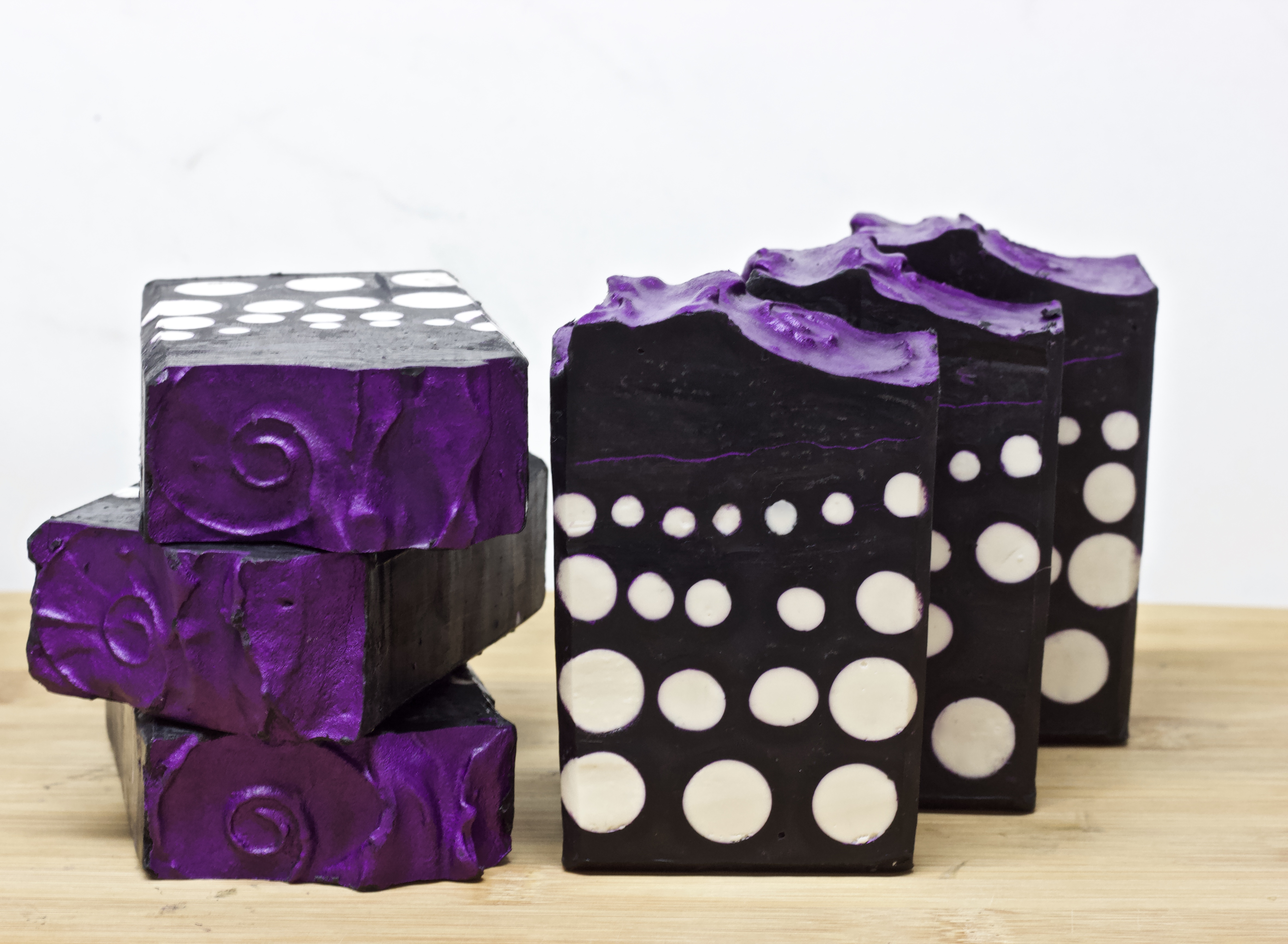 purple polka dot party