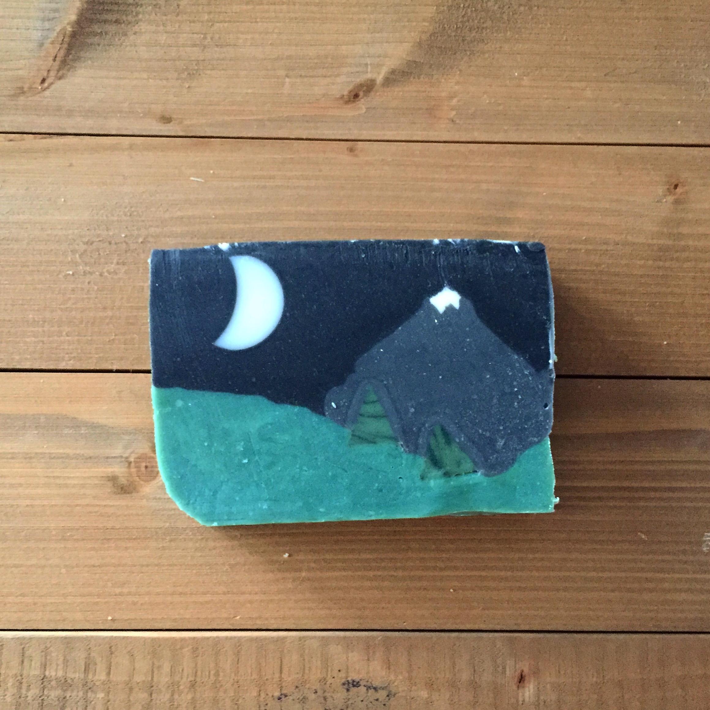 moonlit mountain soap