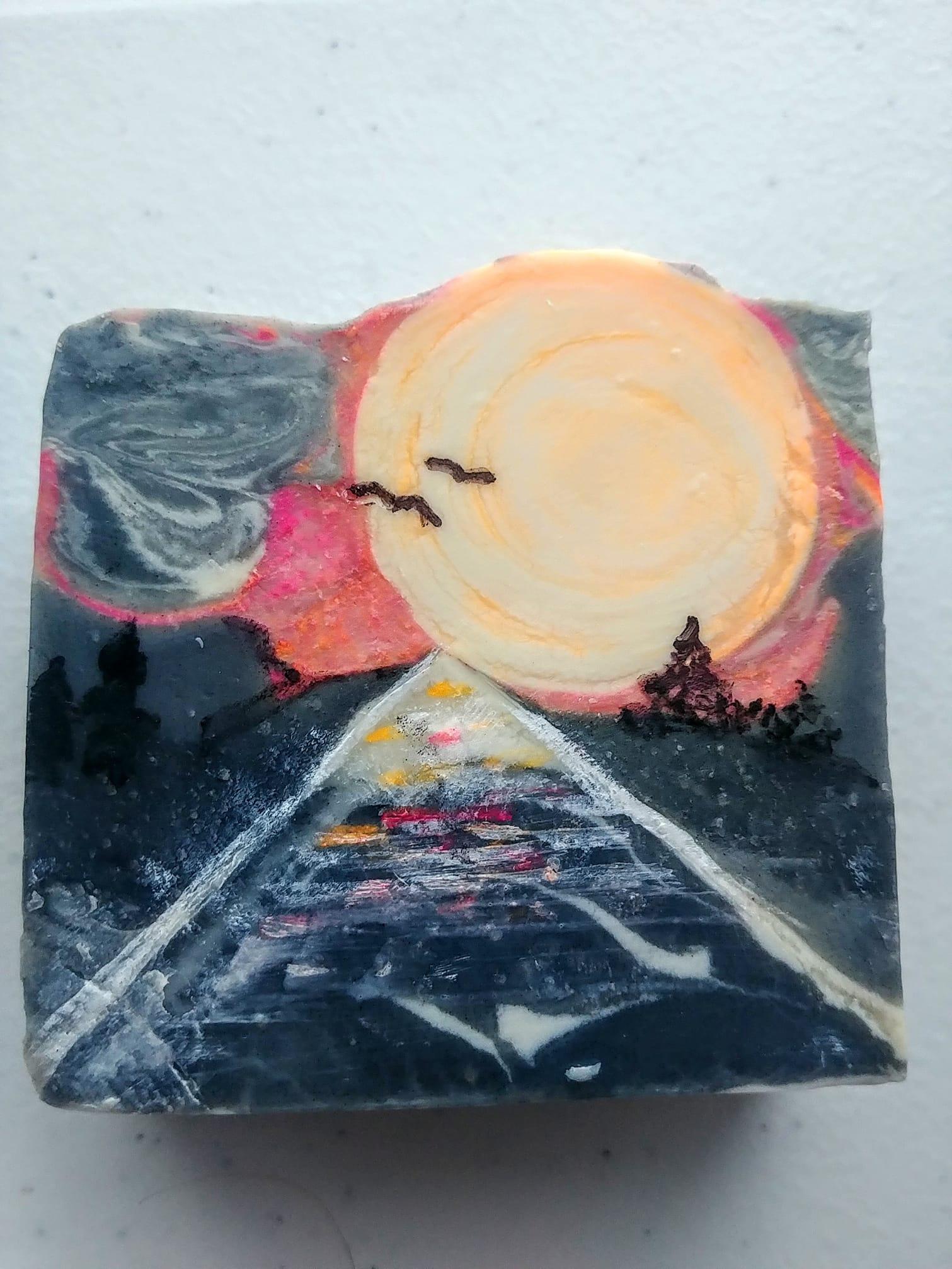 tracks to sunset