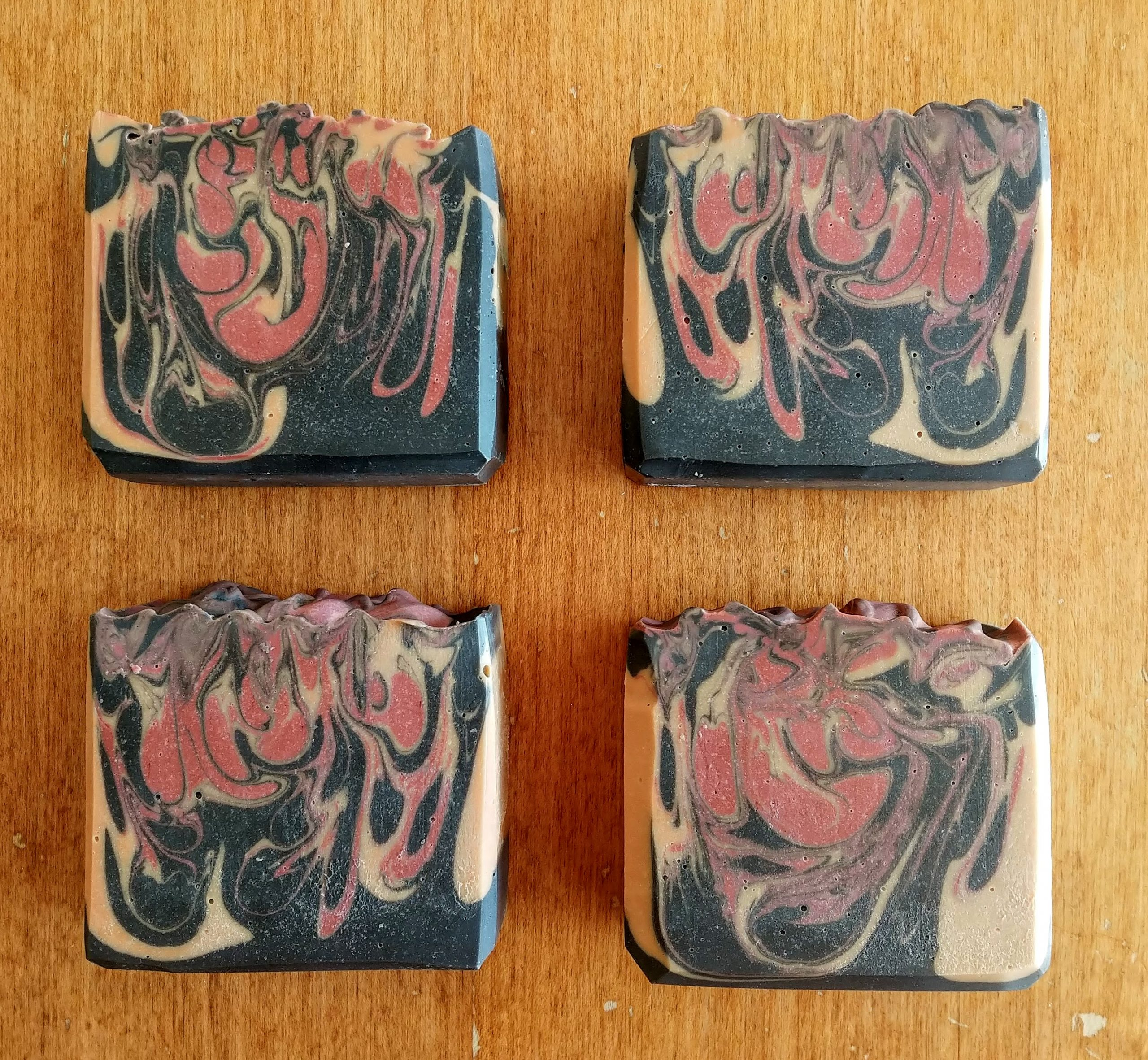 the fire pit soap
