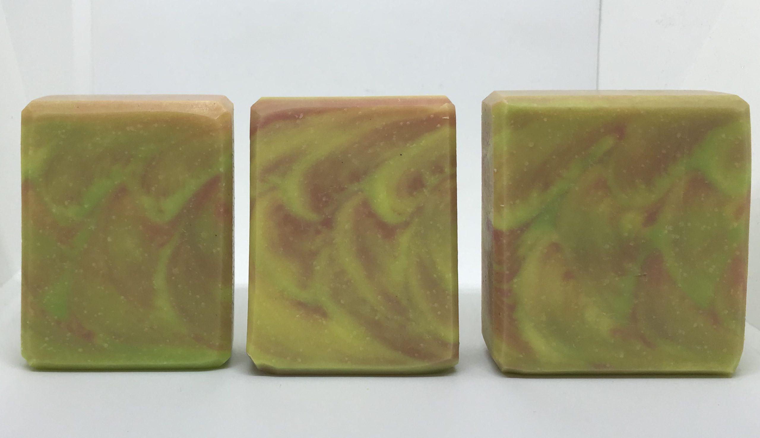 green salsa clamshell