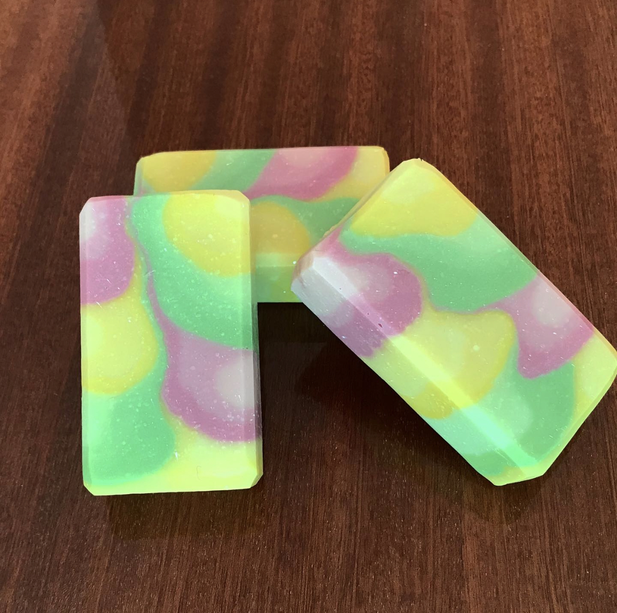 spicy spring soap