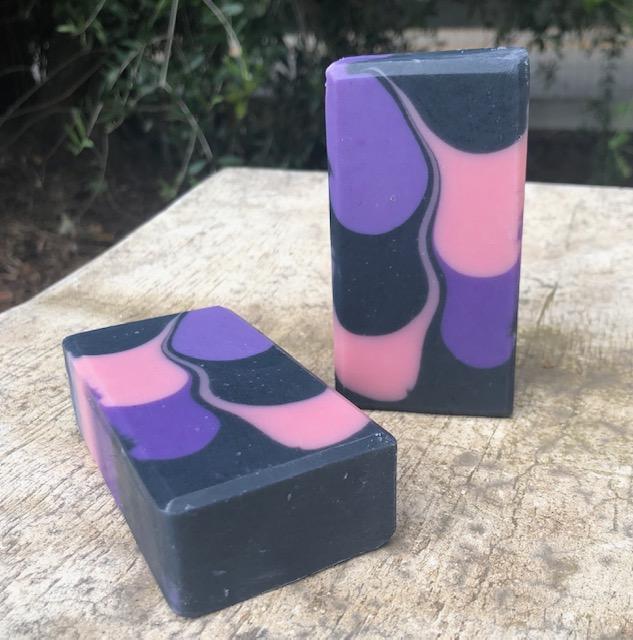 purple skinny shimmy