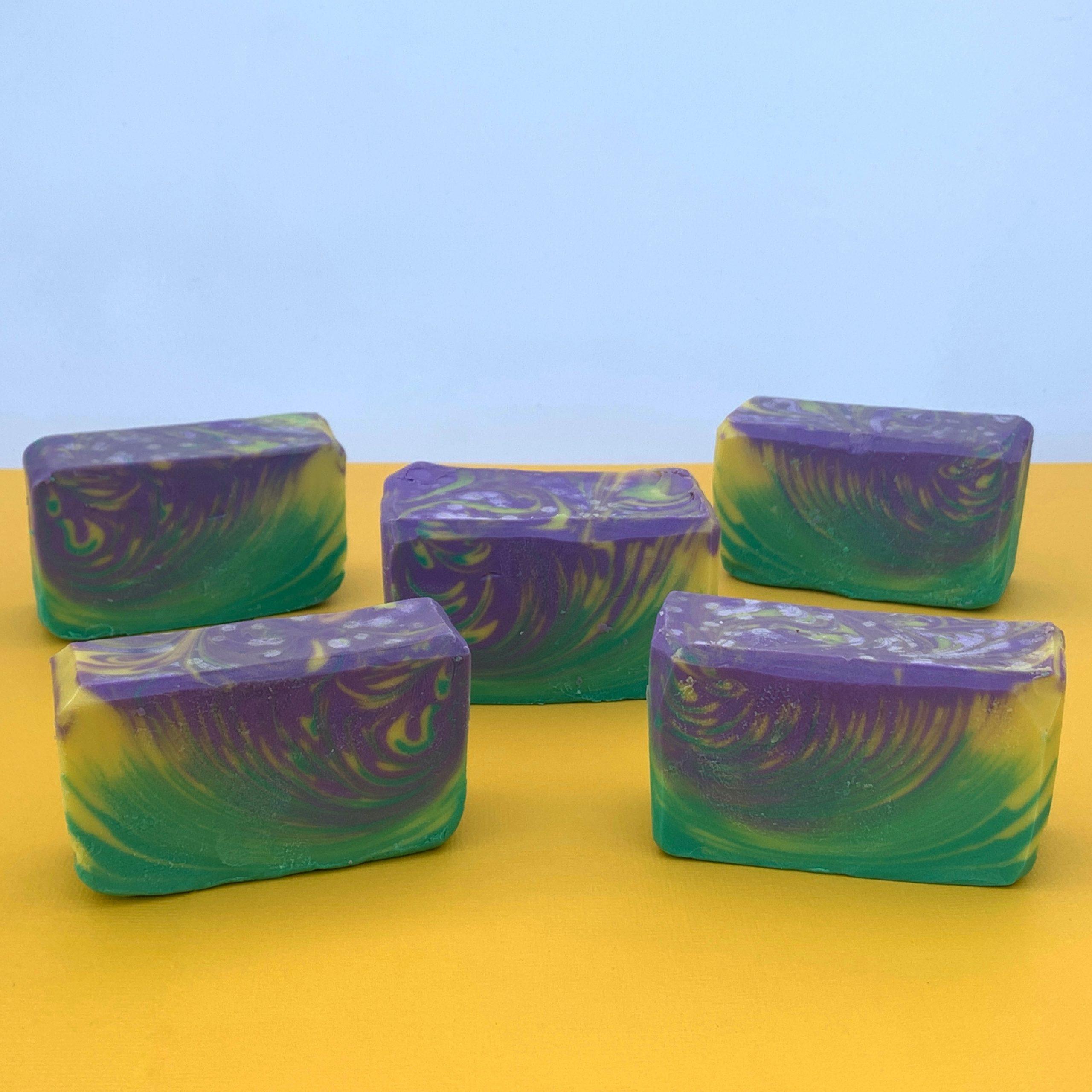 mardi gras soap krewe
