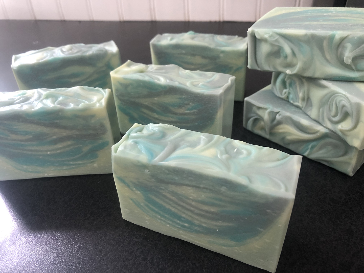 tissue box soap
