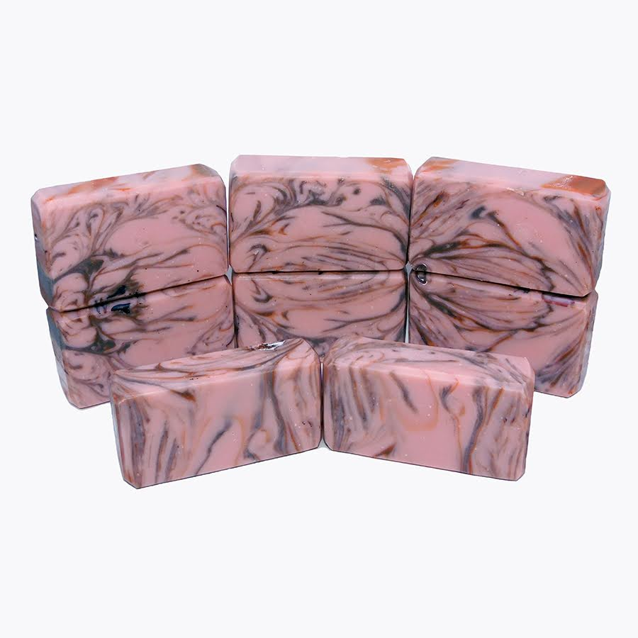 pink marble hall