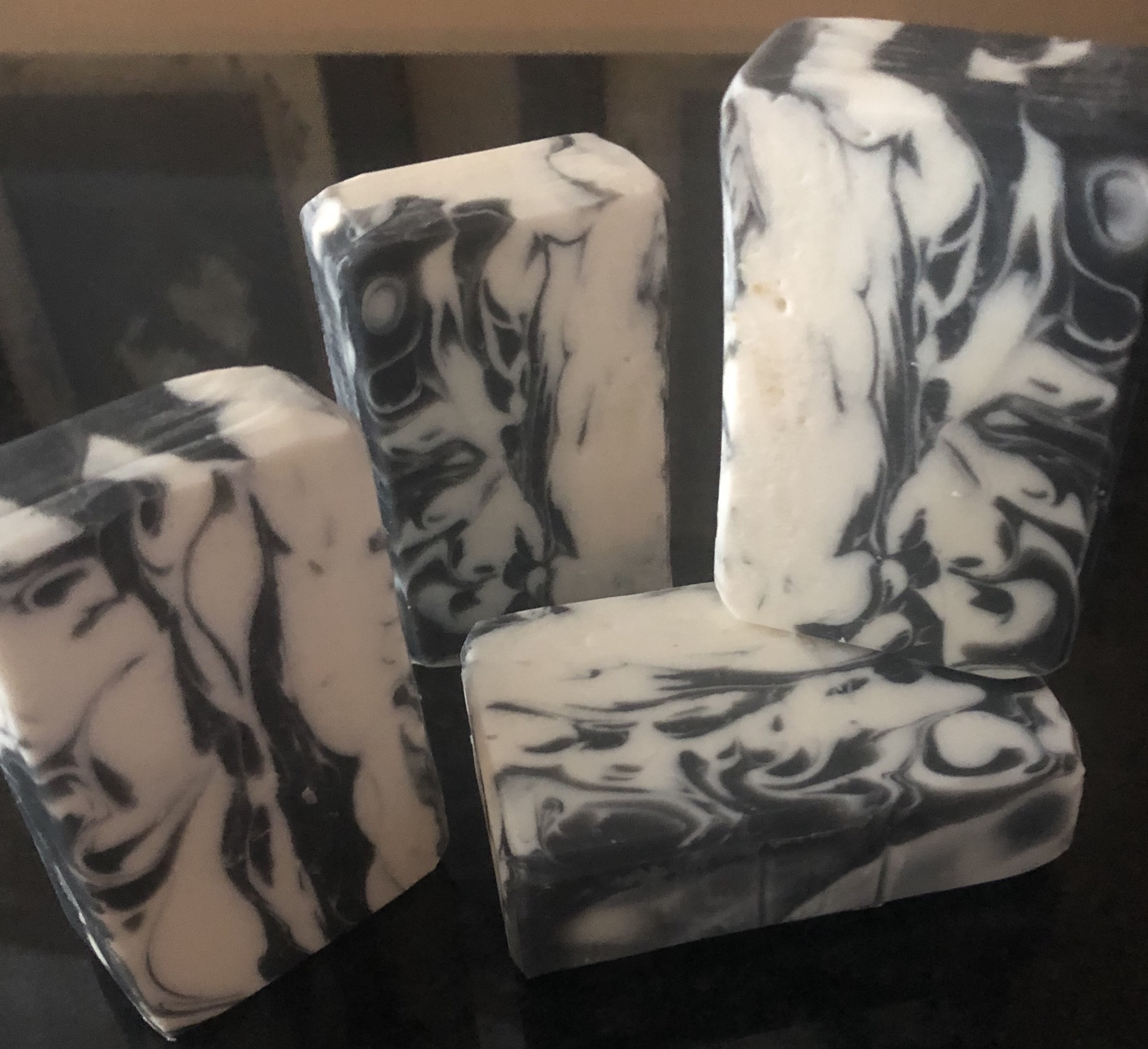 black house marble soap