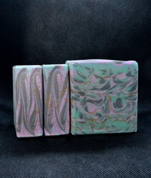 purple lavender marble