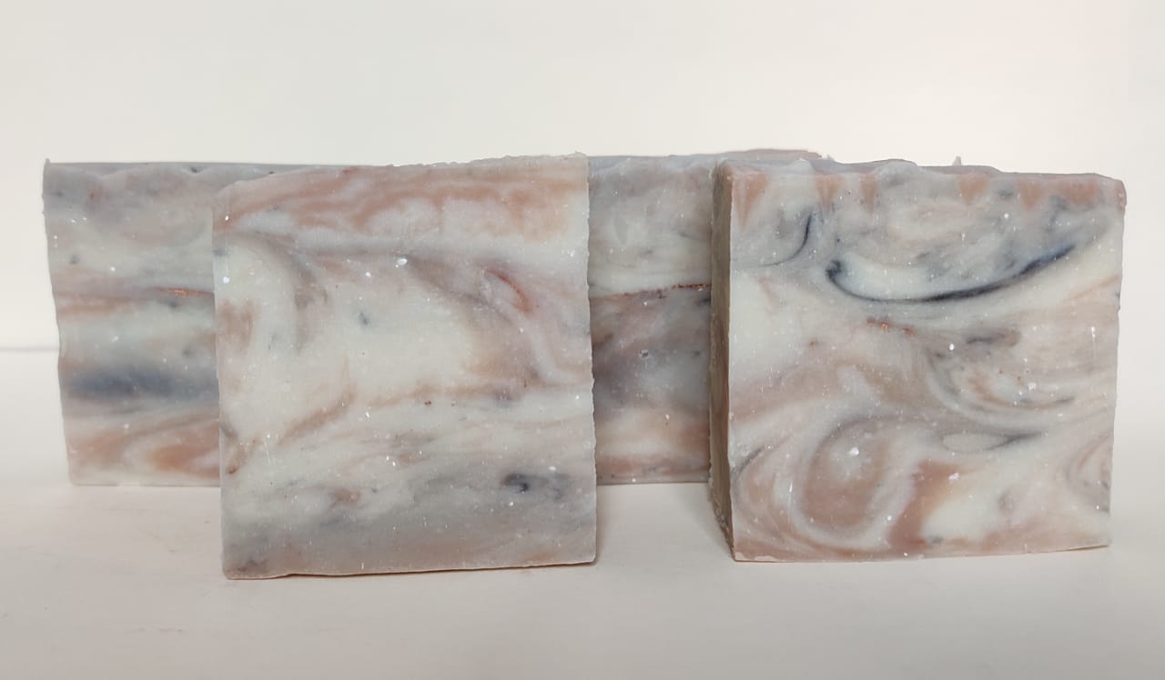 my tangerine salsa marble soap