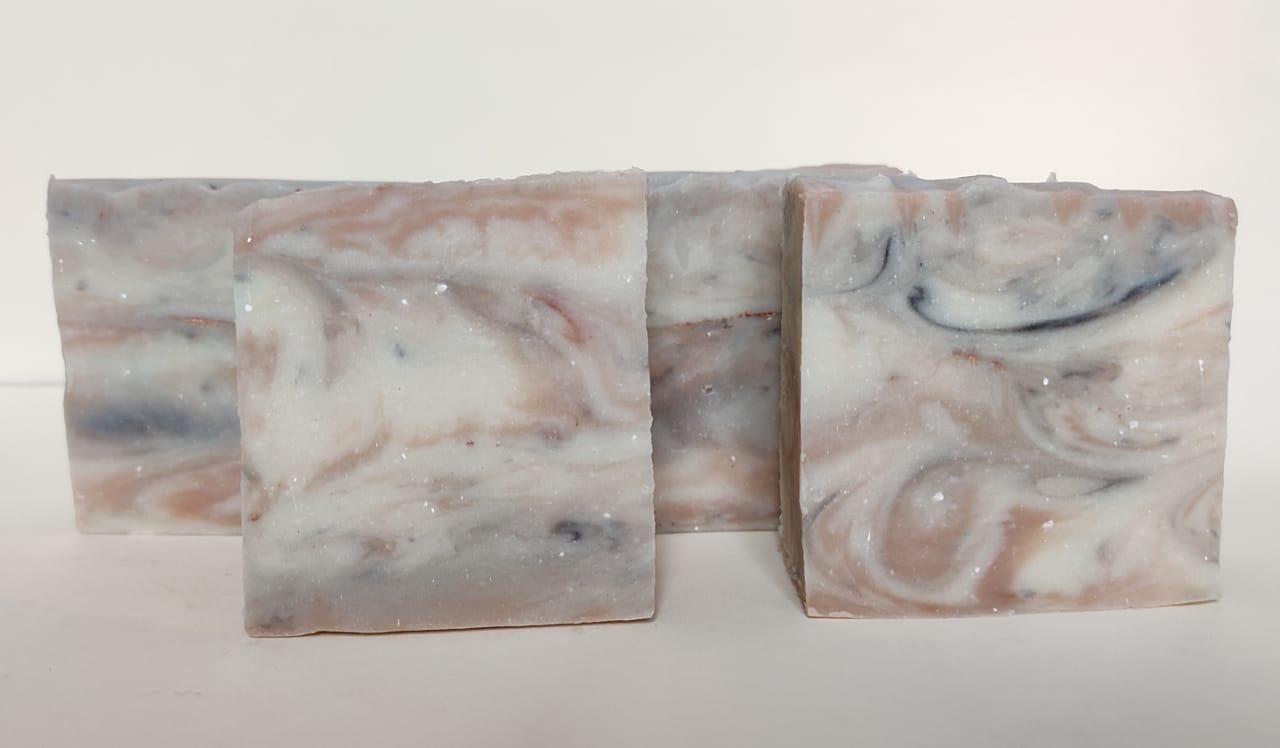 my tangerine salsa marble soap