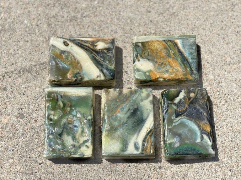 calming sea stones