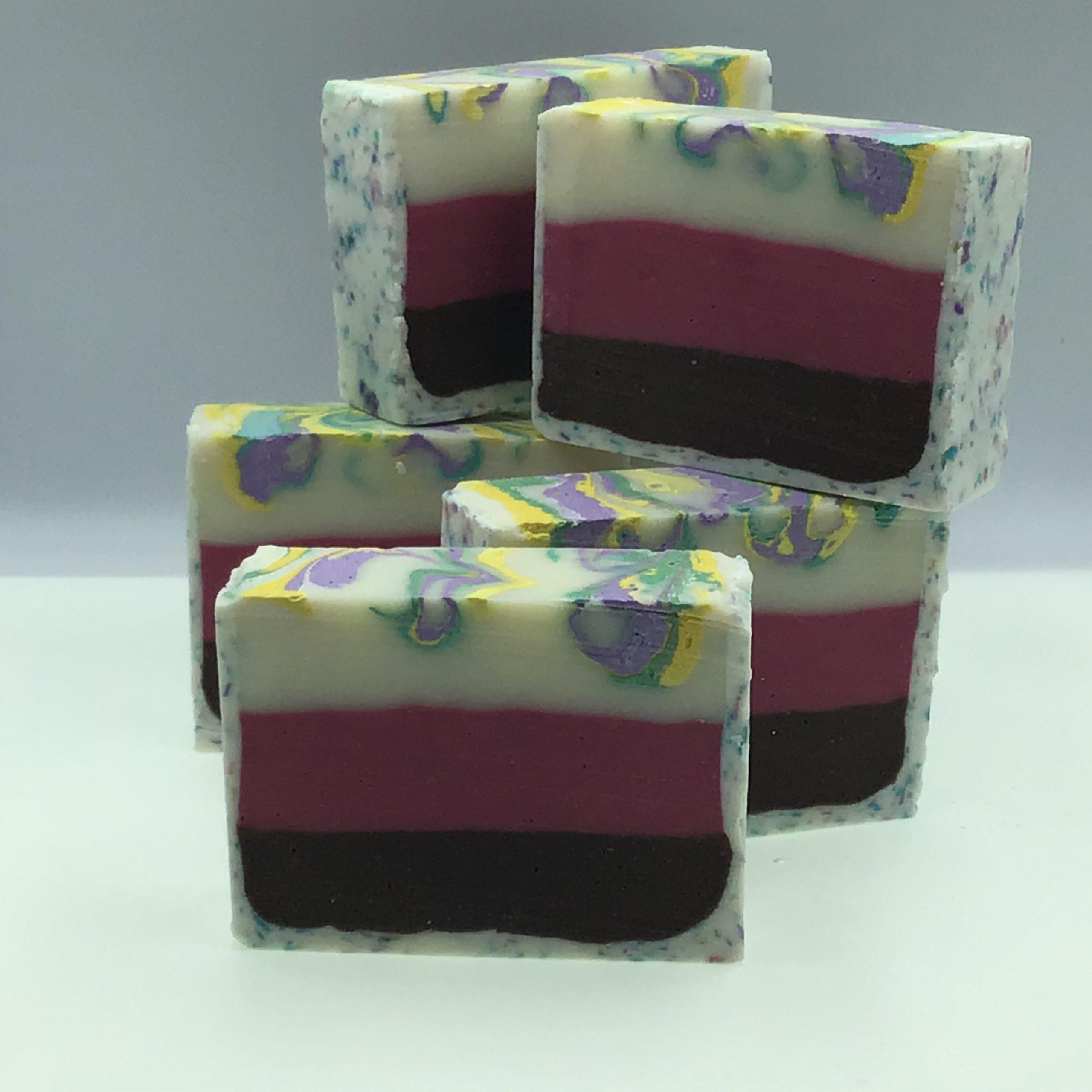 ice cream cake soap