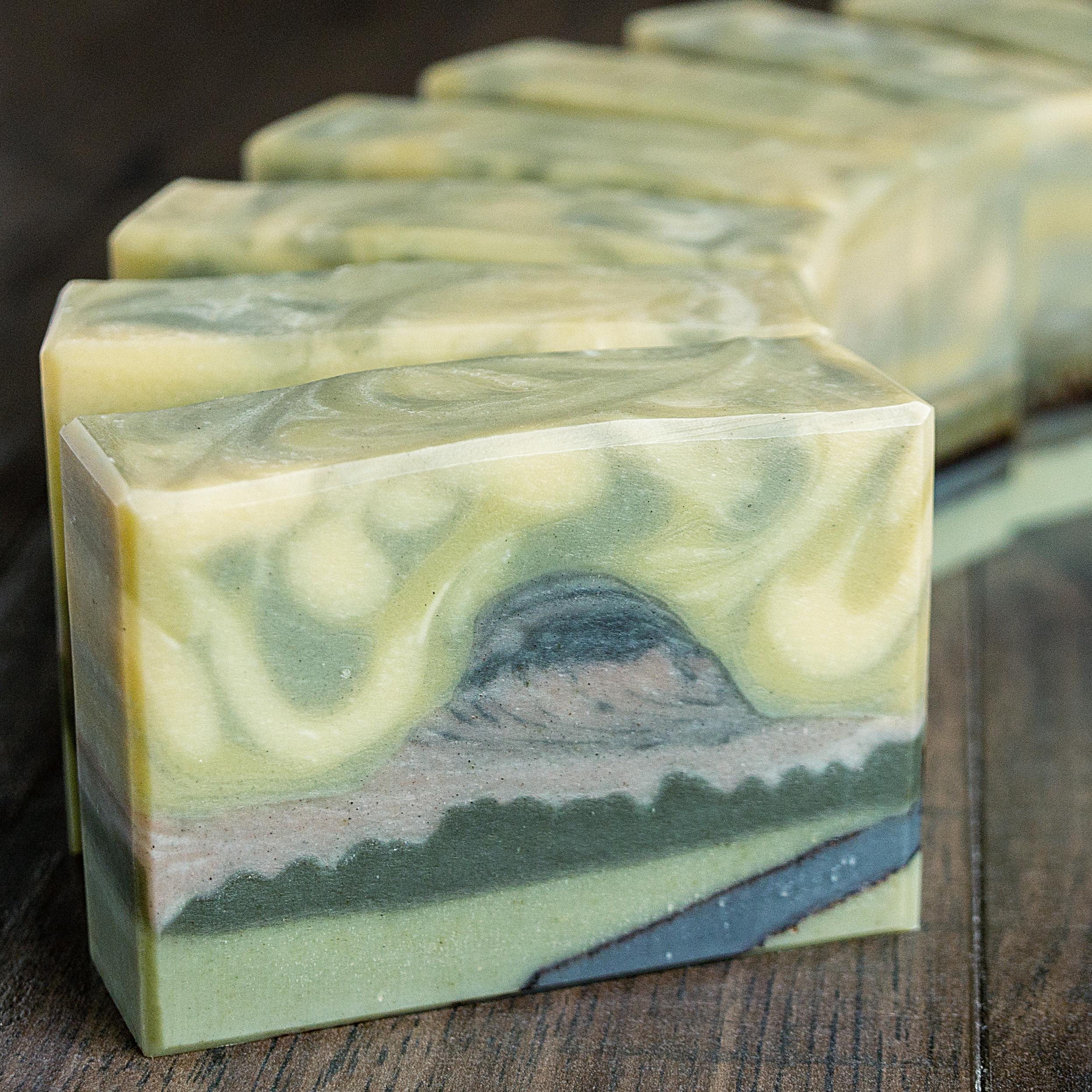 half dome soap