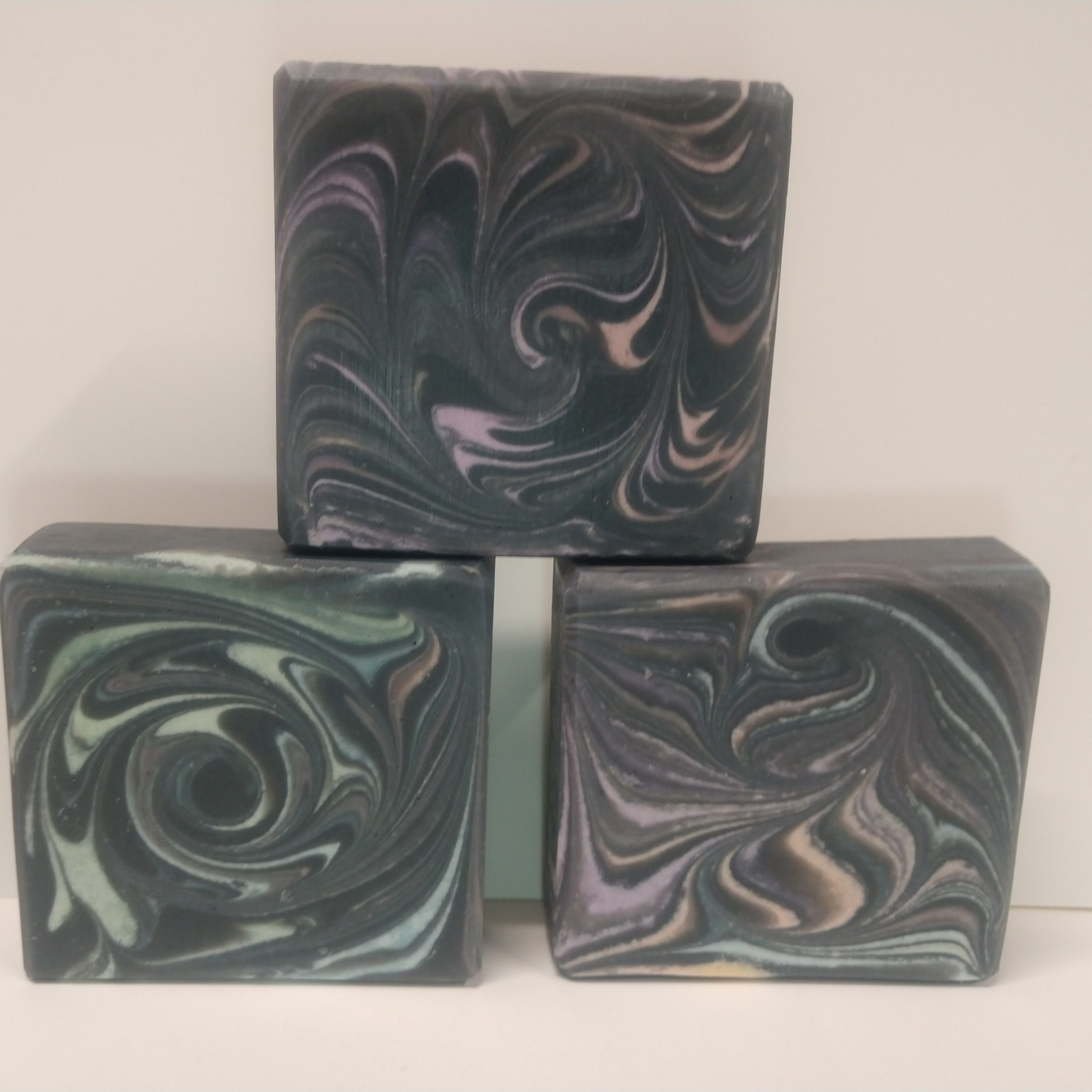charcoal swirl