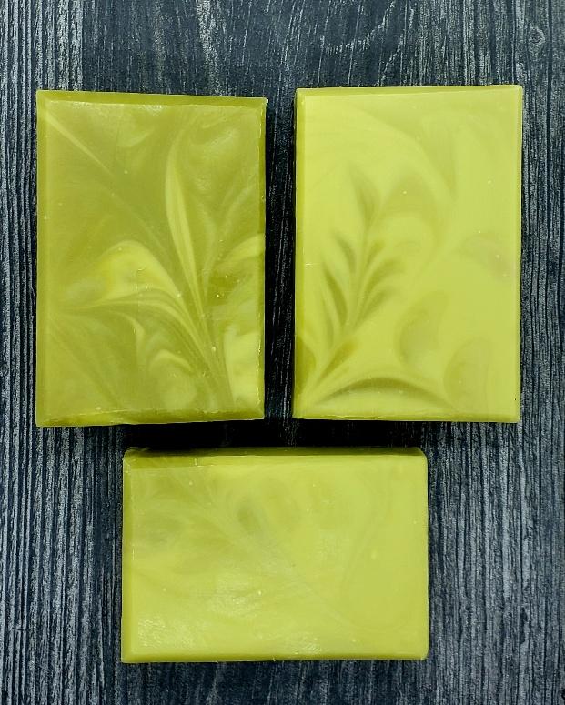 hemp seed oil coke swirl ghost soap