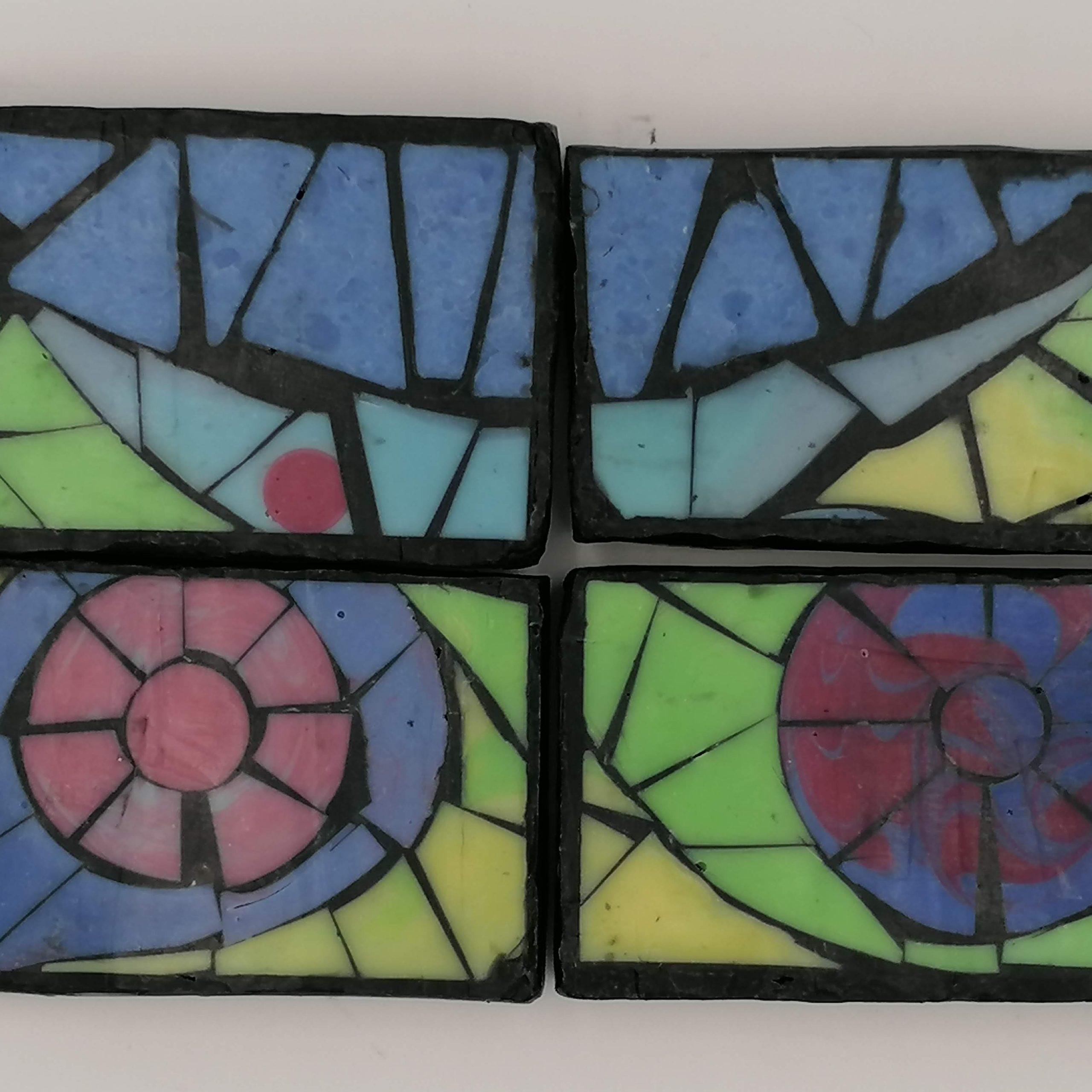 verbena island mosaic soap
