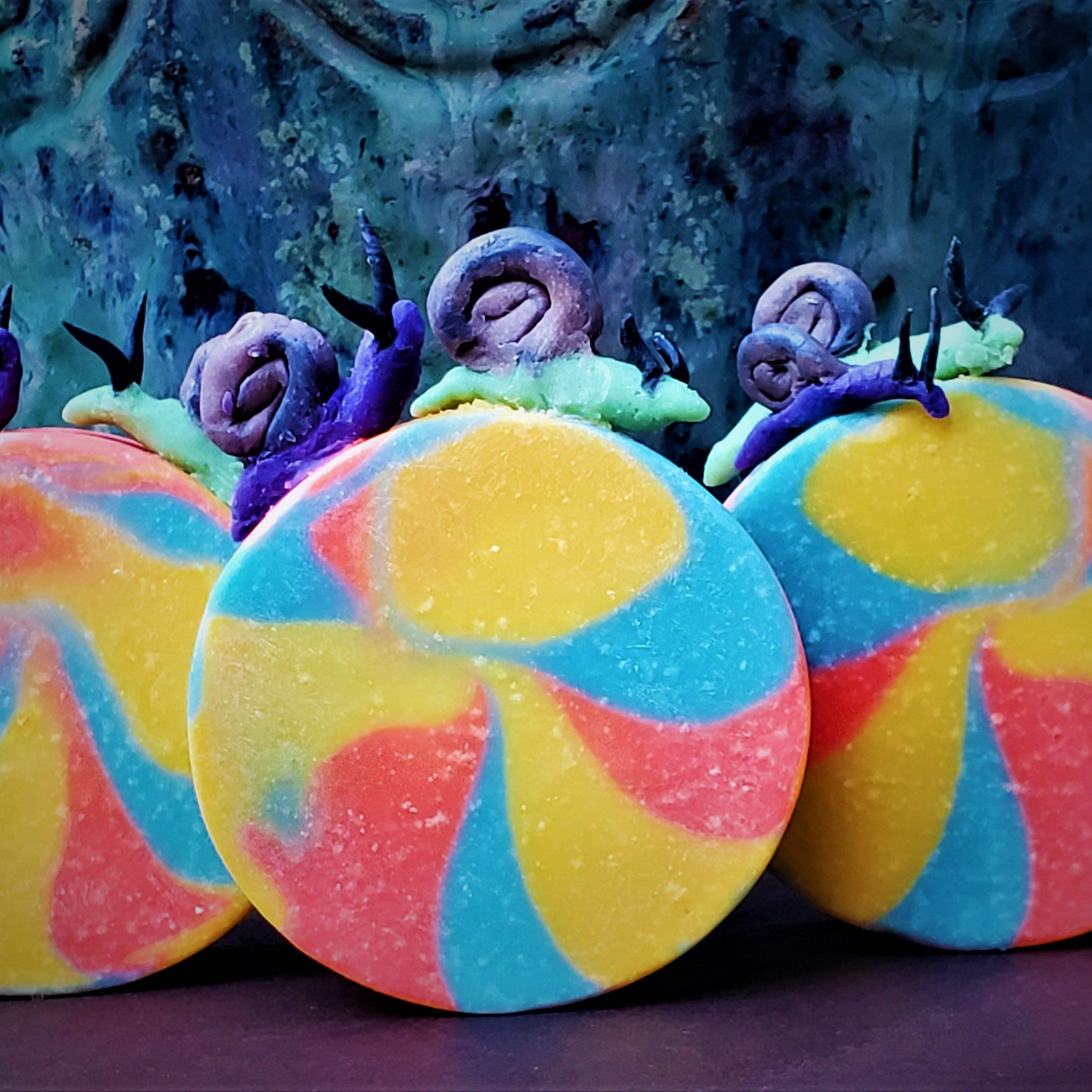 psychedelic snail