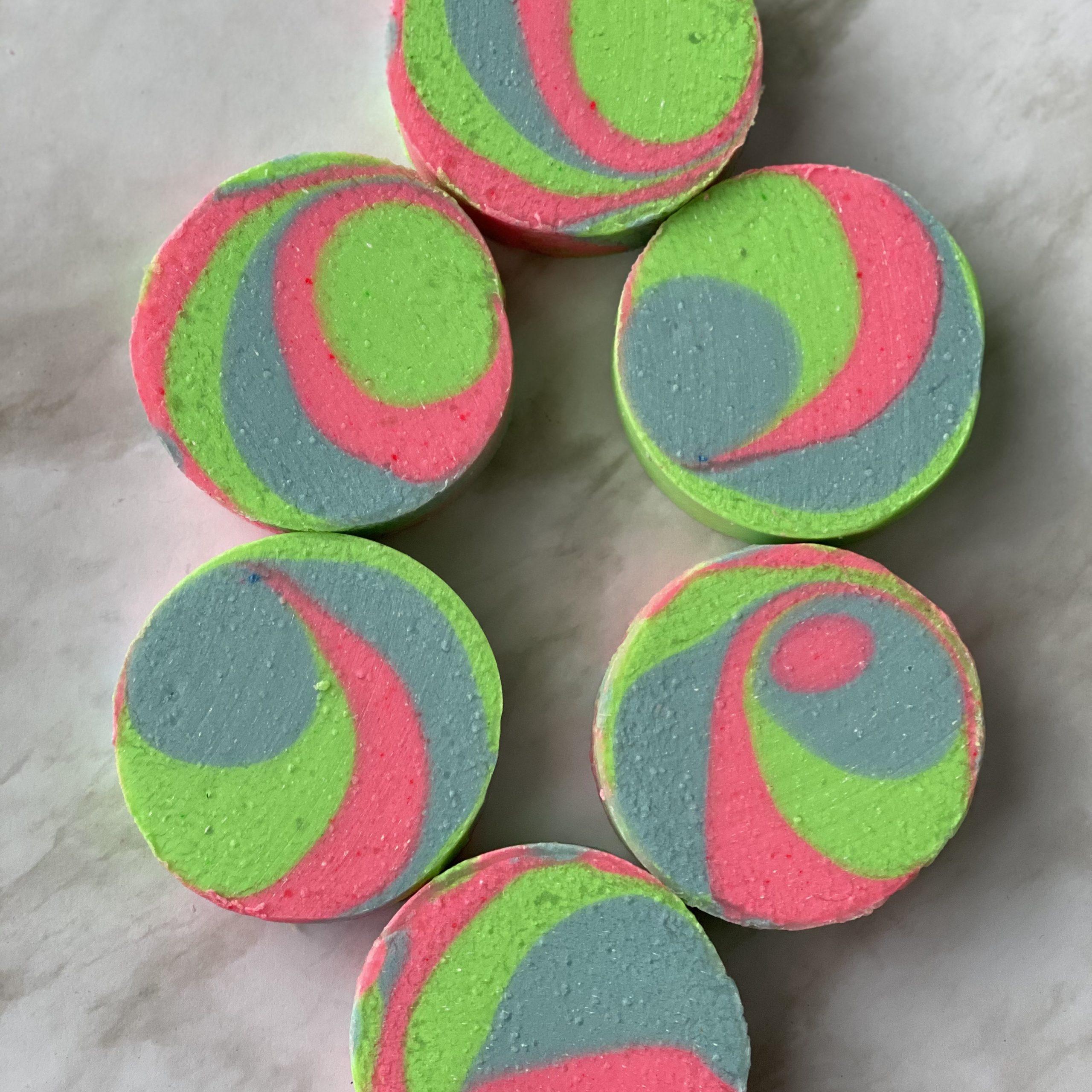 lollipop in neon