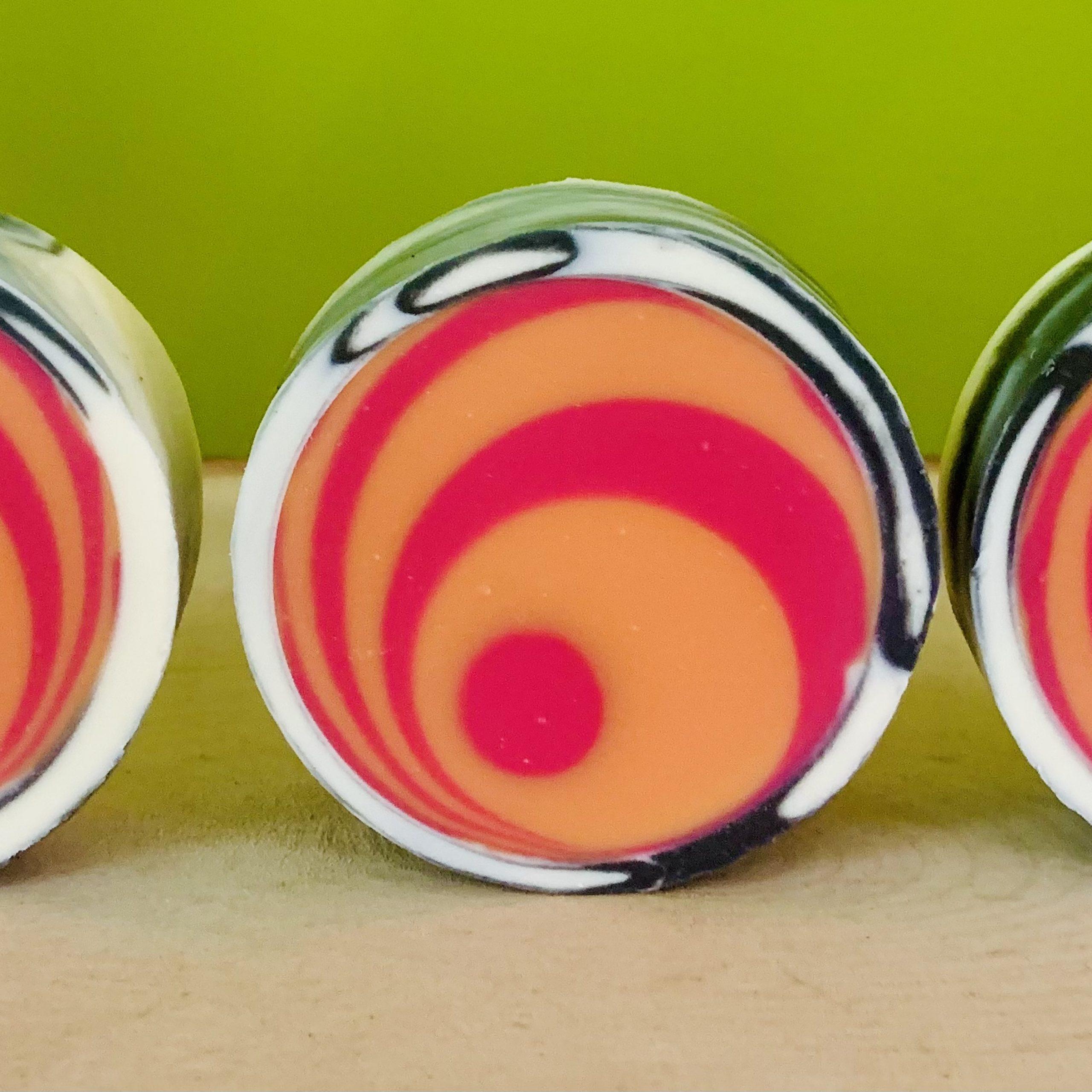 retro lollipop swirl