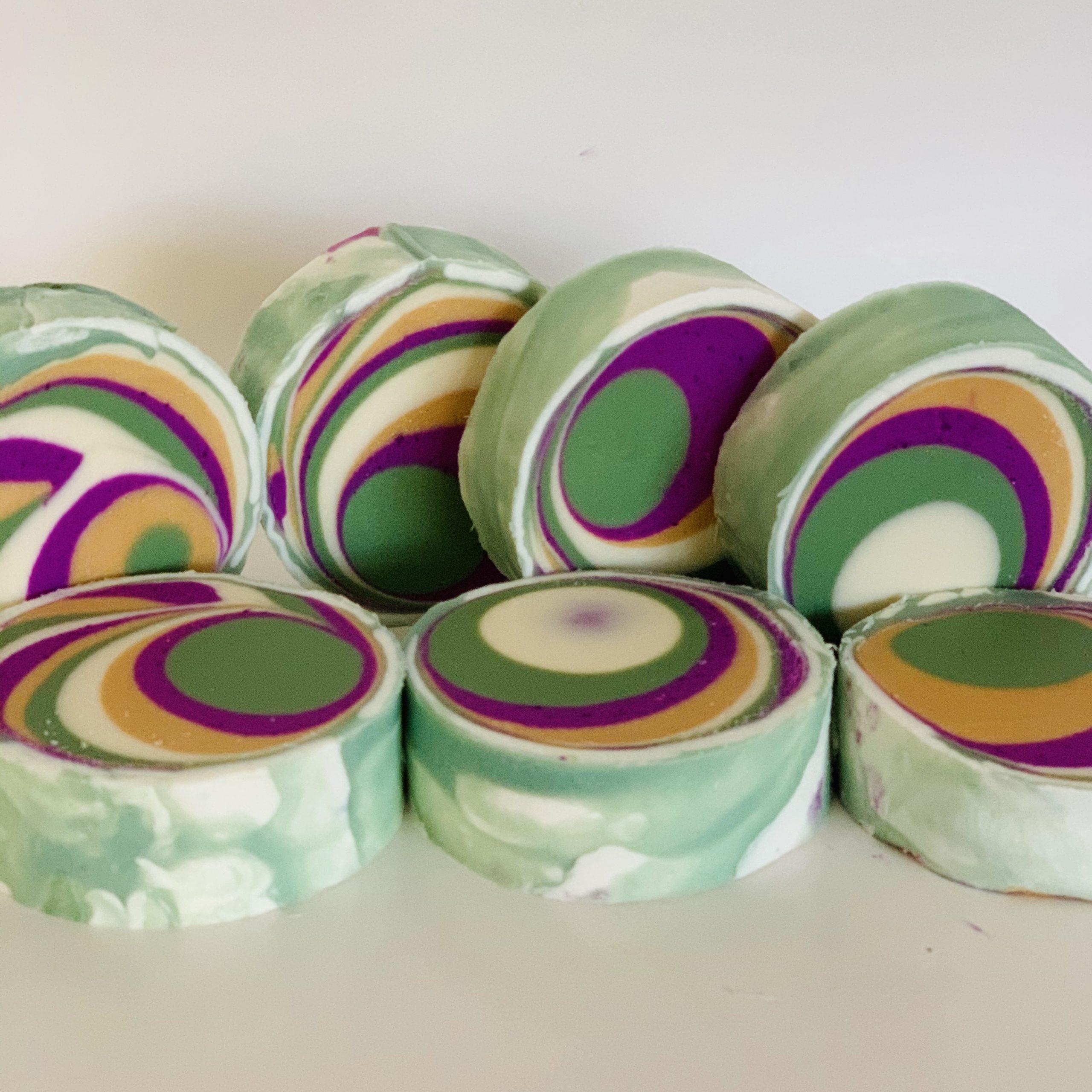 grape ape swirl soap