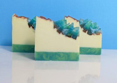 Geode Crystal Soaps