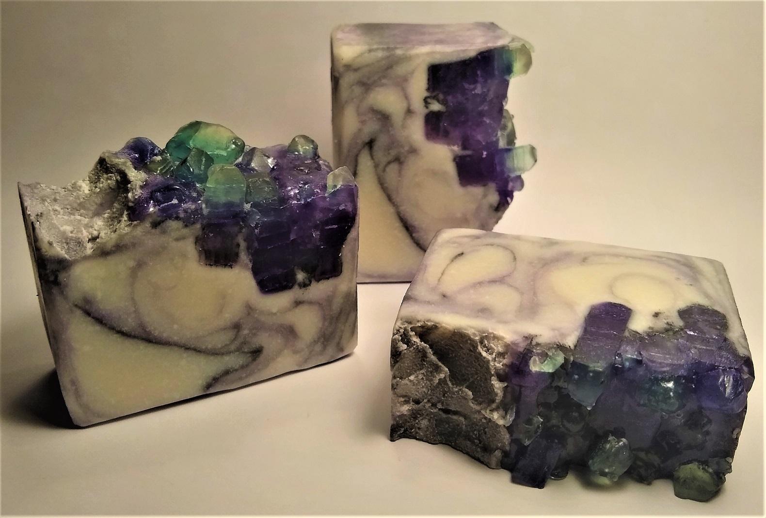 blue purple crystal amethyst