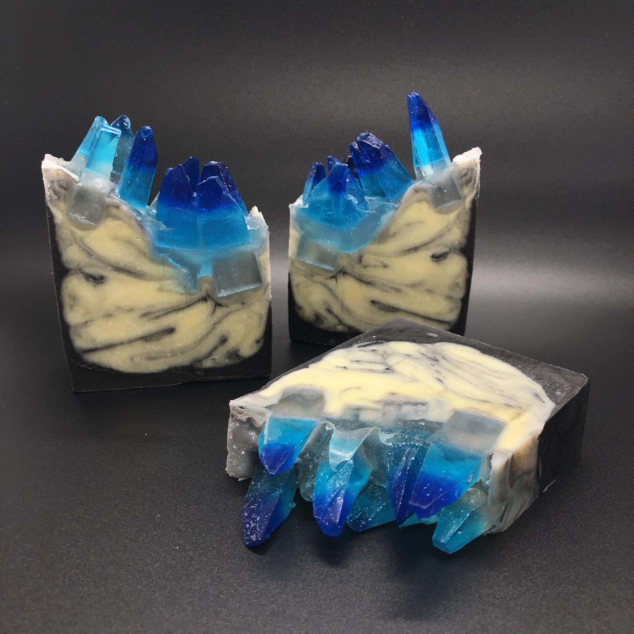 icy blue gems
