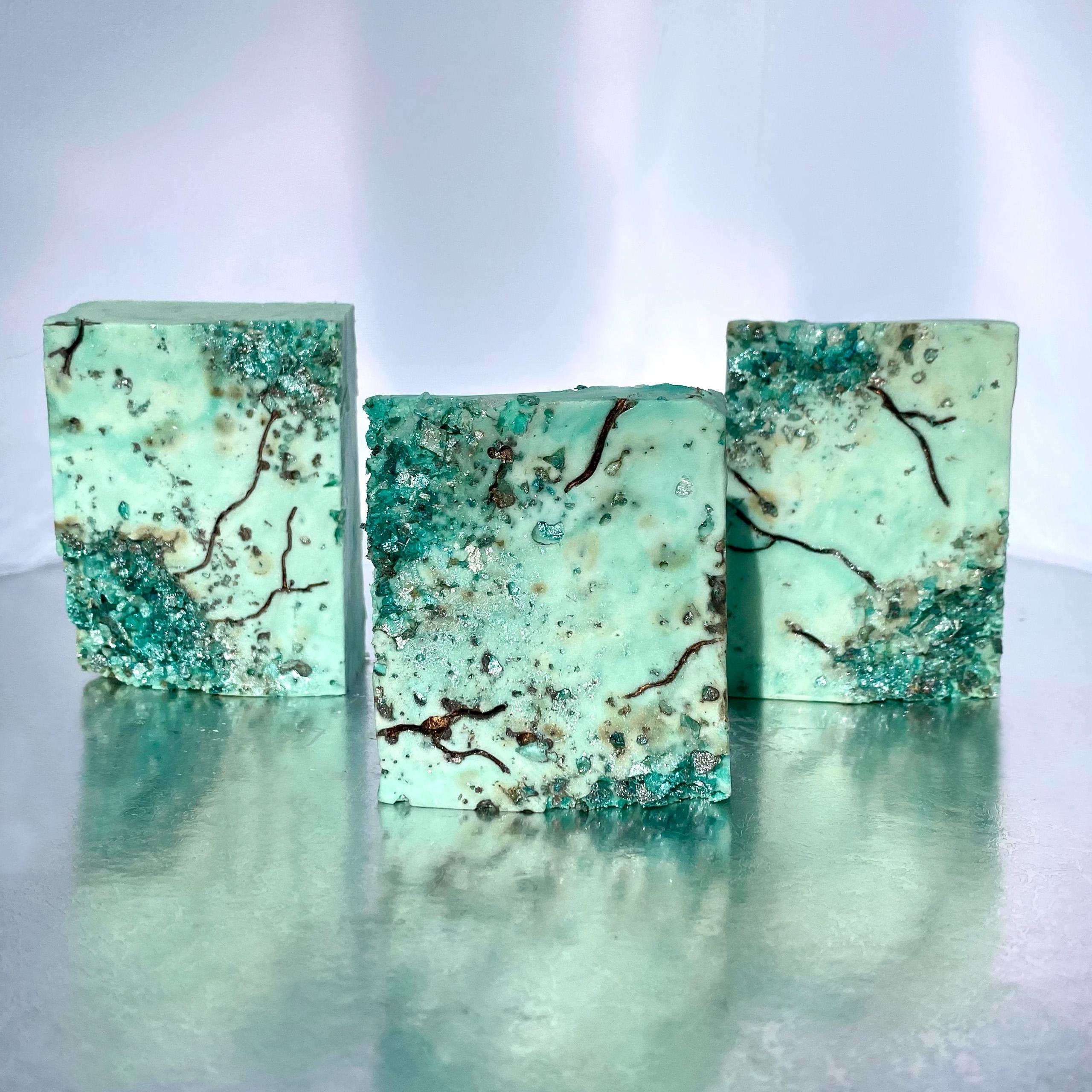 chocolate mint salt crystals