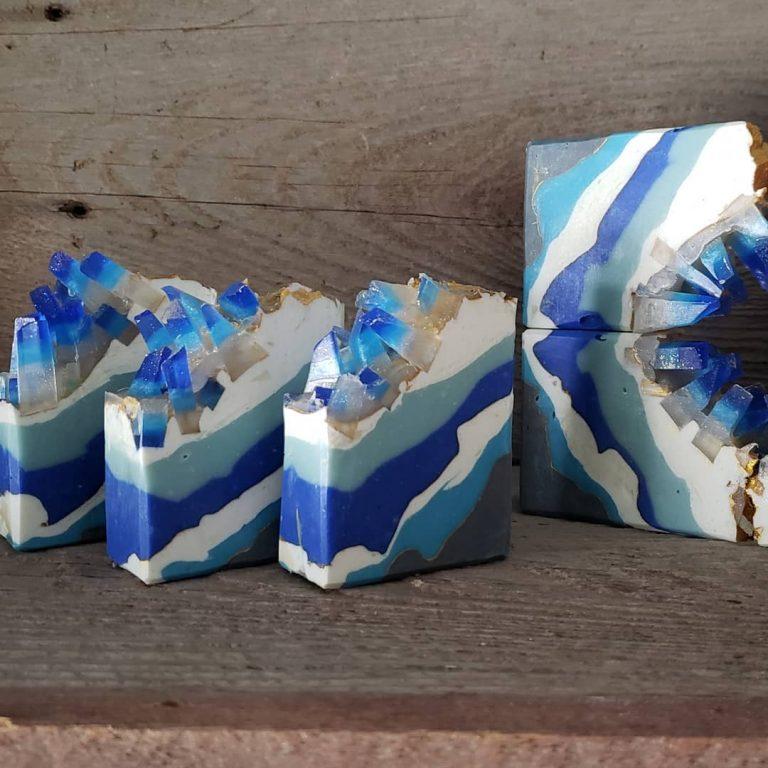 blue wave geode