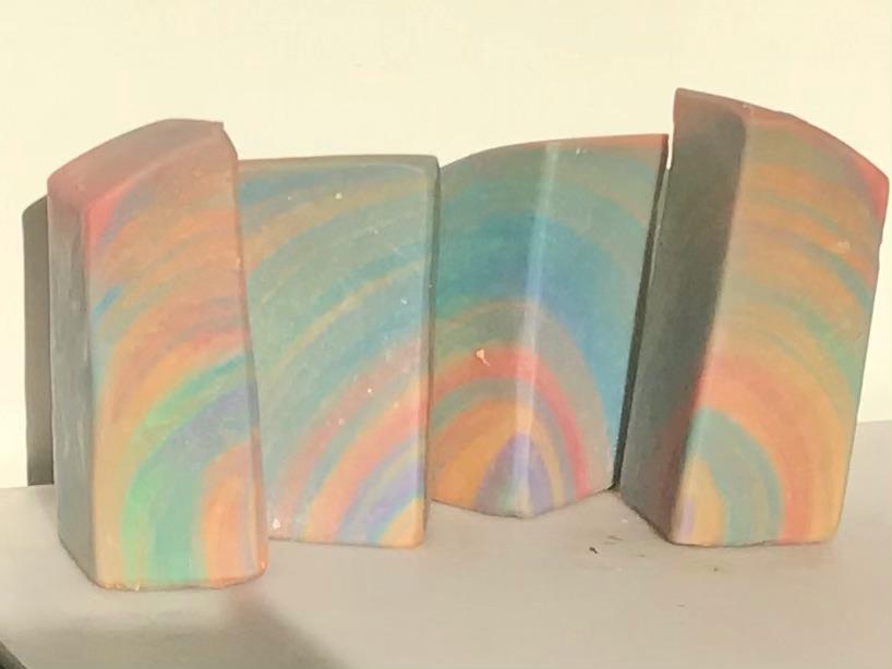 rainbow skycrapers