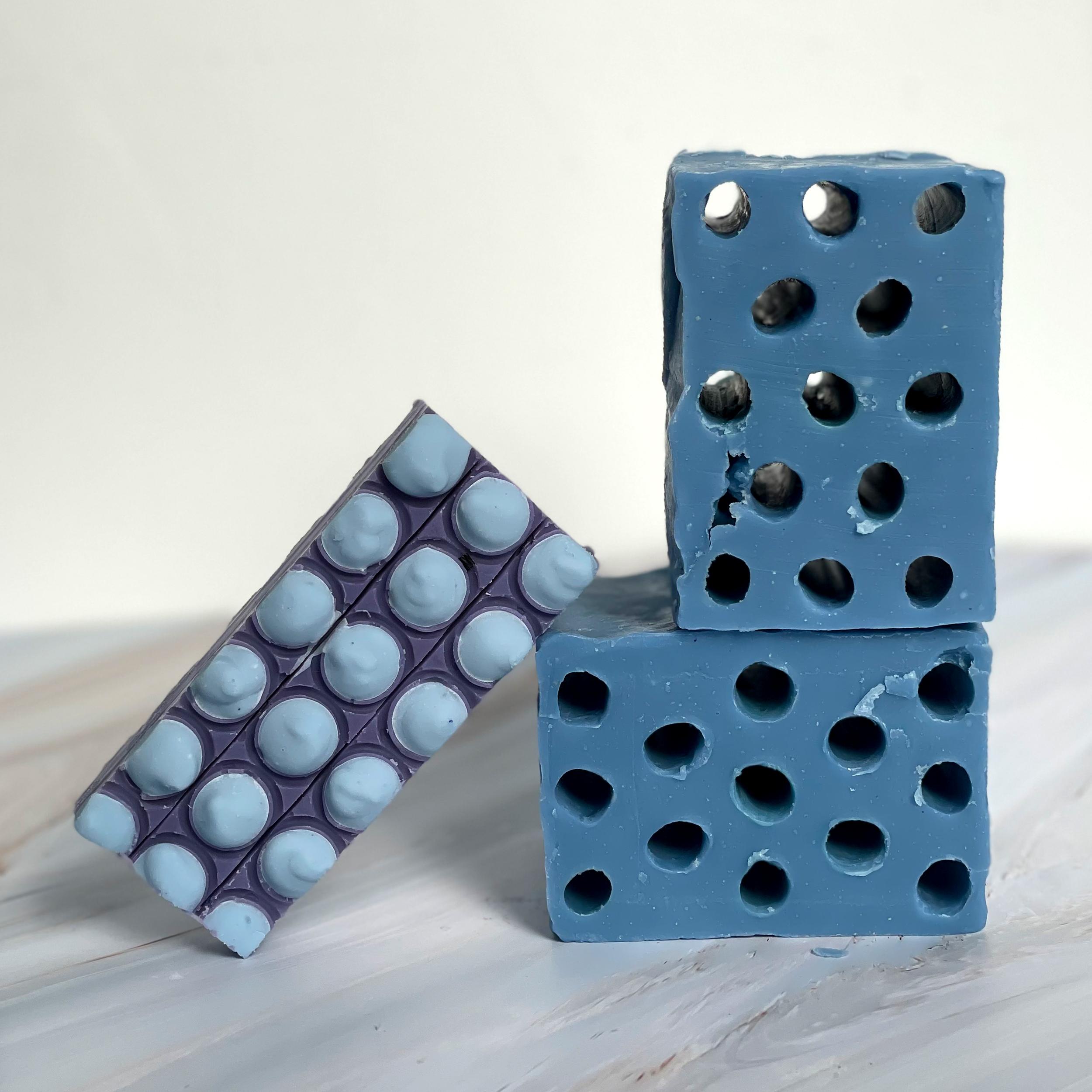 deconstructed constructivist bricks