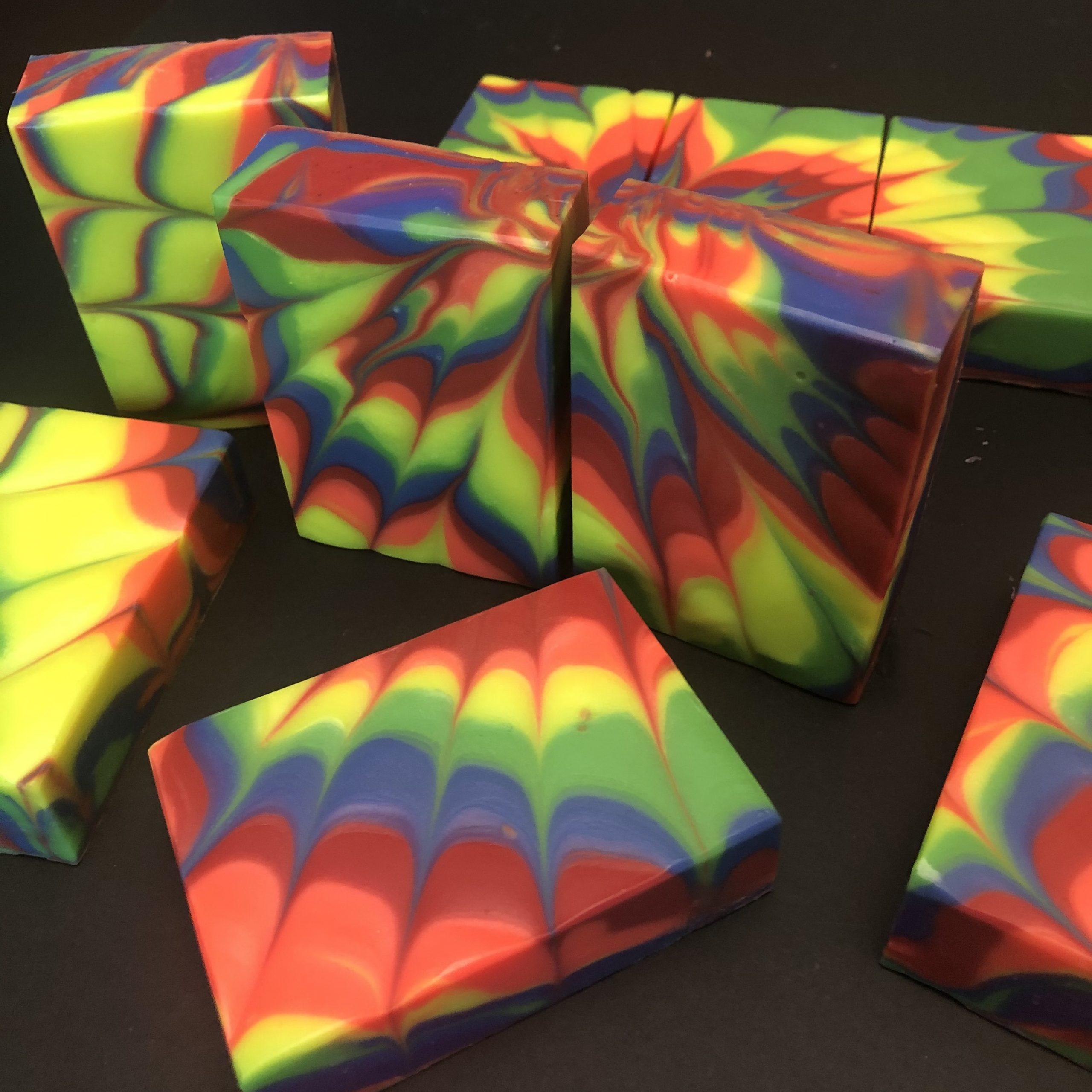 rainbow kaleidoscope