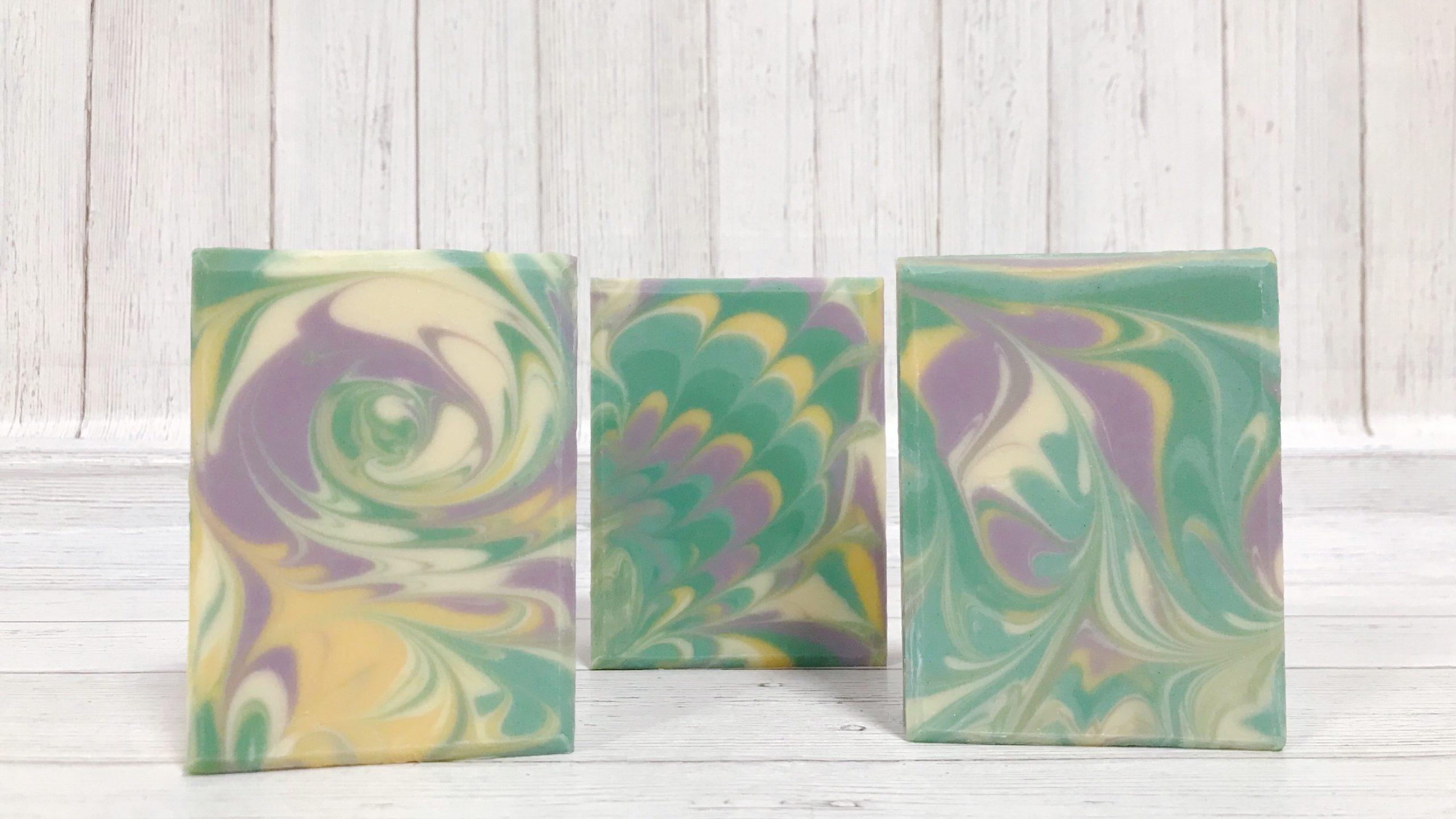 column pour technique soap