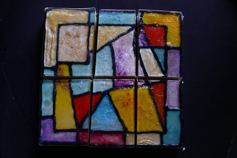 pi stained glass